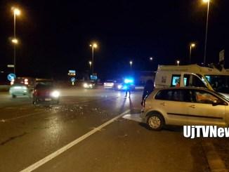 Incidente a Ospedalicchio, due vetture si scontrano, un ferito lieve