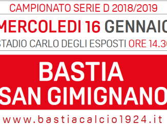 Serie D infrasettimanale con Burlando, Bastia 1924 vs San Gimignano