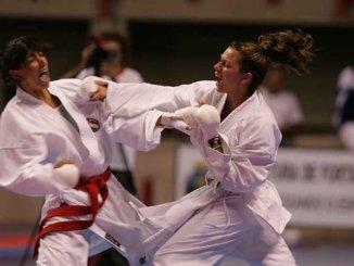 Festa per le nuove cinture di karate a Bastia Umbra