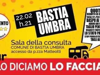 M5s, tour #Selodiciamolofacciamo, a Bastia il 22 febbraio