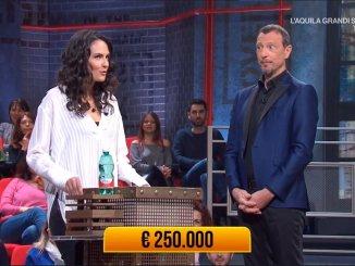 Valentina Dionigi di Bastia Umbra, sbanca ai Soliti Ignoti, chi è la concorrente?
