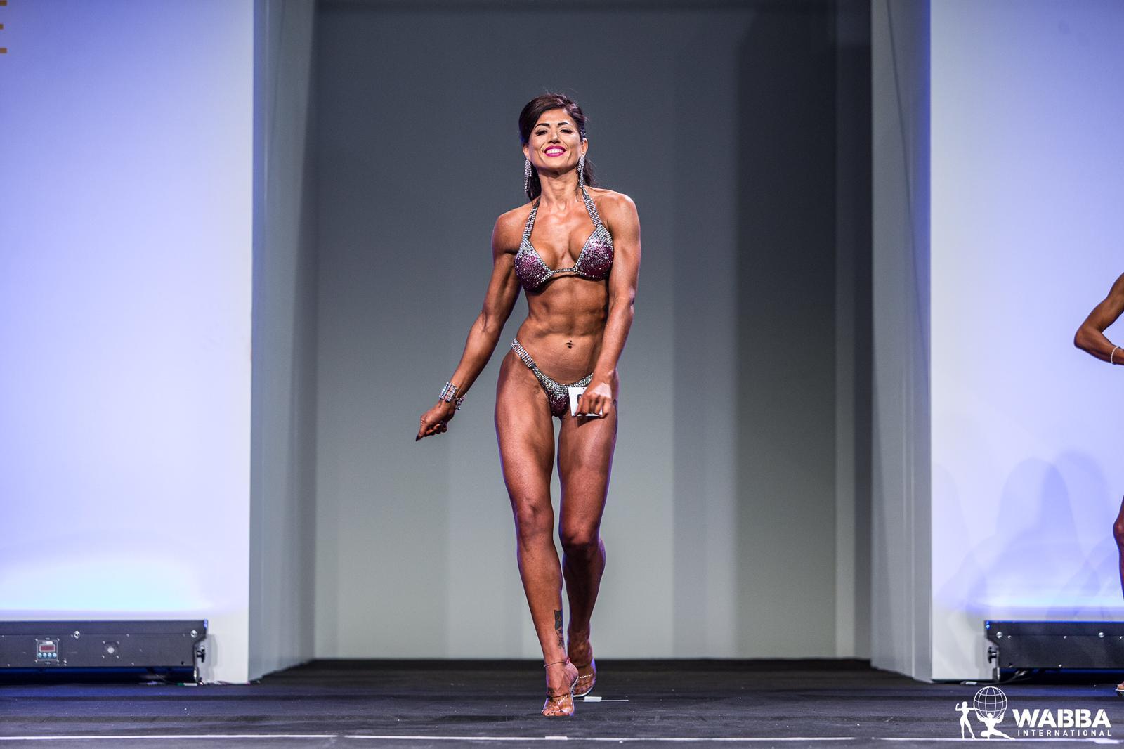Valentina Wonder Asciutti campionessa europea di body building Pca
