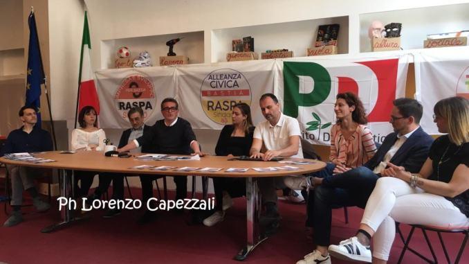 Lucio Raspa, patto di alleanza per ballottaggio a Bastia Umbra
