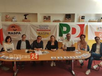 Coalizione Lucio Raspa sindaco, maggiore presenza femminile in Consiglio