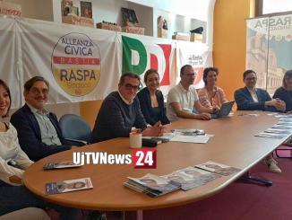 Lucio Raspa, al ballottaggio rinnovato patto tra forze in campo