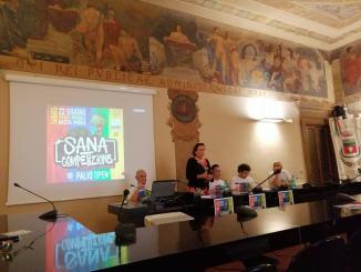 Urban art sana competizione, Pali Open, l'intervento del Sindaco Paola Lungarotti