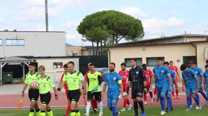 Calcio, serie D, niente da fare per il Bastia, vince il Foligno 3-0