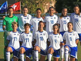 Calcio in rosa a Bastia Umbra, amichevole under 17 femminile Italia Serbia