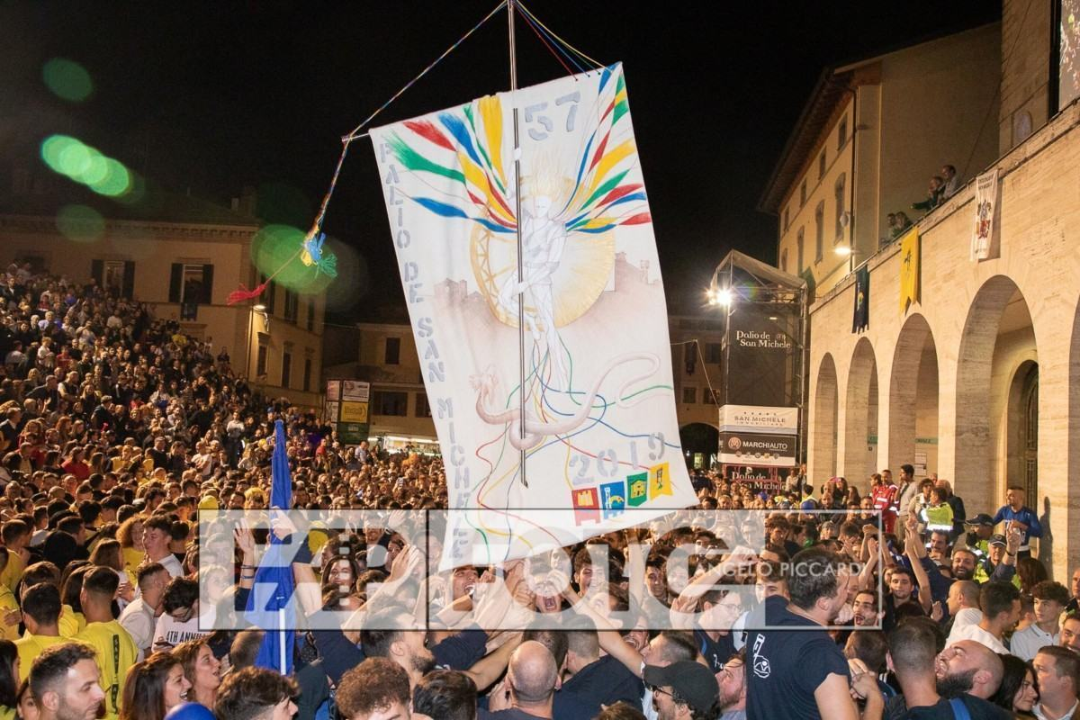 Rione Portella vince il Palio de San Michele e anche la lizza