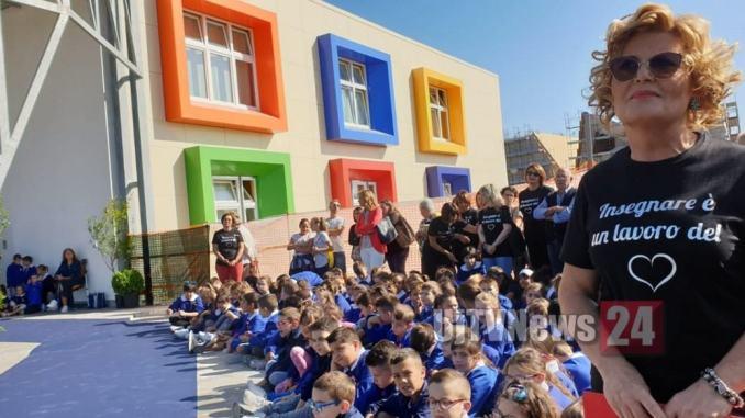 Festa a Bastia Umbra, è stata inaugurata la nuova scuola di XXV Aprile