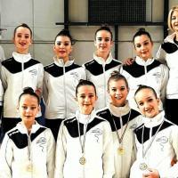 Tre podi per la Gymnica Bastia a Spoleto, fioccano medaglie