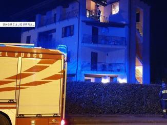 Incendio in via Aldo Moro a Bastiola, a fuoco una canna fumaria