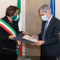 Prefetto di Perugia, Gradone, visita il Comune di Bastia Umbra