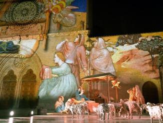 Atmo, l'azienda bastiola, realizza 53 statue per il Presepe ad Assisi