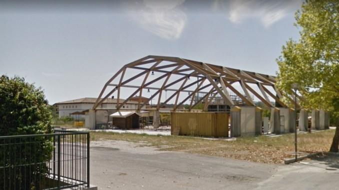 Aperto cantiere per costruire palestra nuova scuola XXV Aprile