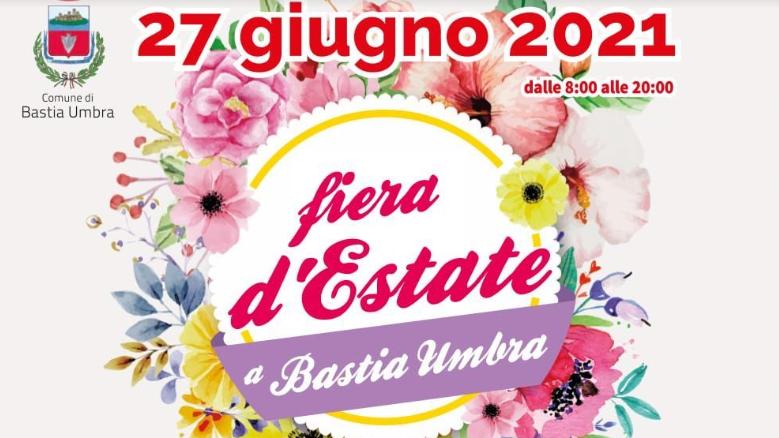 Domenica 27 giugno Fiera d'Estate a Bastia Umbra