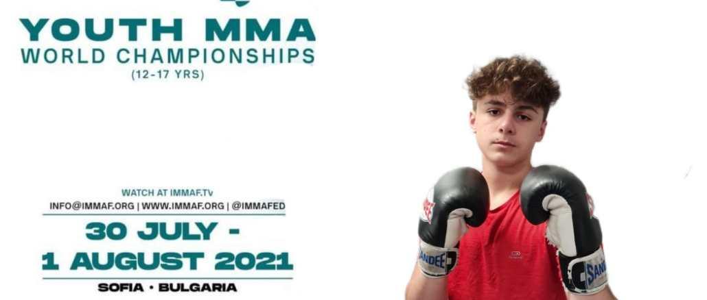 Il giovane atleta Tiziano Fusco parteciperà ai mondiali di MMA in Bulgaria