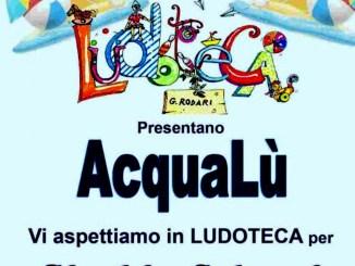 AcquaLù festa d'estate 2021 G.Rodari, ludoteca comunalea Bastia Umbra