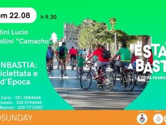 rEstate a Bastia, domenica 22 Ecosunday - Sbiciclettata, prosegue fino al 5 Settembre l'Arena Estiva Esperia