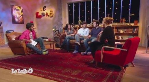 Bastien Simon interviewé sur France Ô avec Julie Gayet
