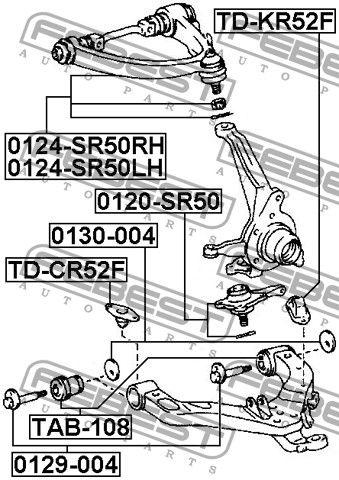 Расширенное описание для Рычаг передний TOYOTA LITE