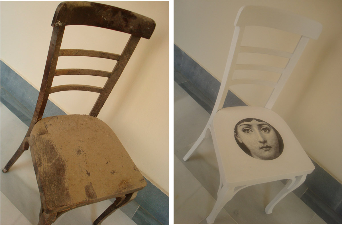 Basurillas  Blog Archive Me encontr  una silla de