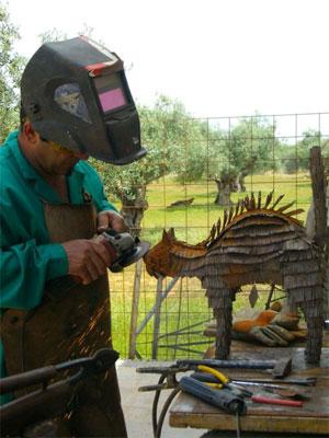 Basurillas  Blog Archive Escultura y reciclaje  Ricardo
