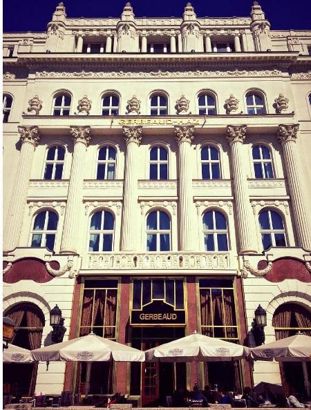 Gerbaud cafe budapest gebouw