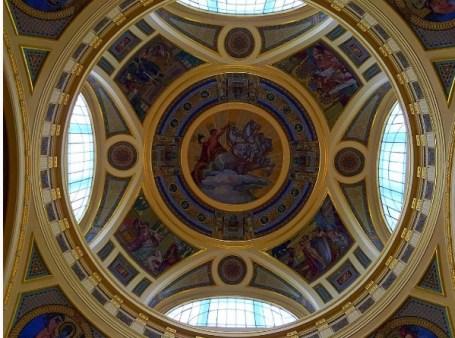 Szechenyi badhuis plafond