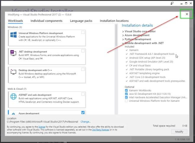 """Please update Visual Studio Installer before proceeding."" ...before uninstalling Visual Studio."