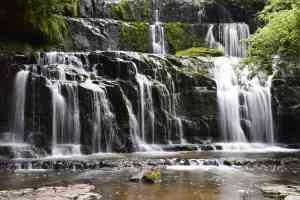 Waterfall New Zealand Purakaunui