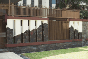 Pagar Tembok Rumah Minimalis Type 36 batu