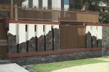 Pagar Tembok Rumah Minimalis Type 36 batu | Harga Batako