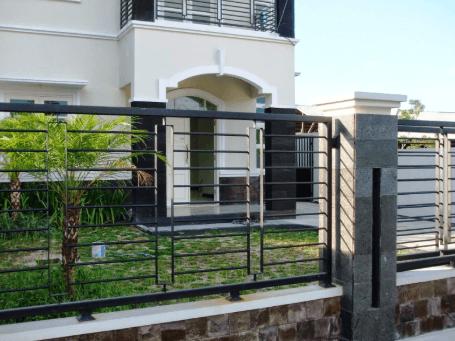 Pagar Tembok Rumah Minimalis Type 36 perumahan
