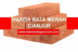 Harga Bata Merah Cianjur: Batu Bata Press & Expose