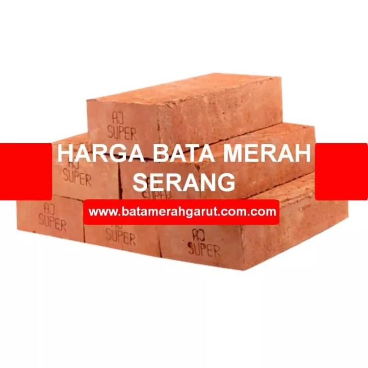 harga bata merah Serang Banten