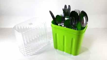 Gambar tempat sendok dan garpu