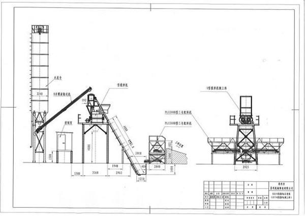 HZS75 Concrete Batching Plant,HZS75 concrete batching