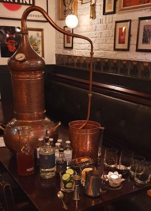 Old House Tea & Gin School-Set-Up