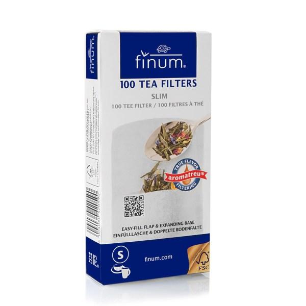 100 Finum TEA Filters Slim