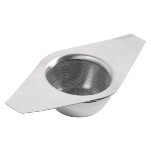 Photo of Stainless Steel Tea strainer with Drip Bowl