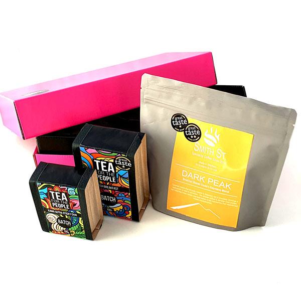 Morning Glory Tea and coffee gift set