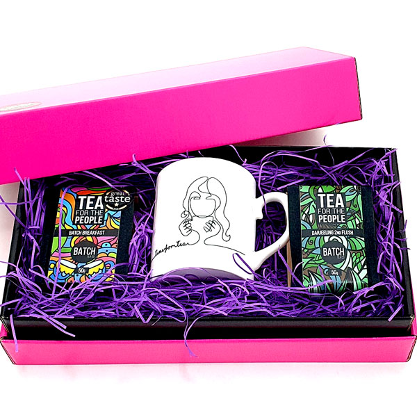 Wakey Wakey Tea Gift Set with Darjeeling