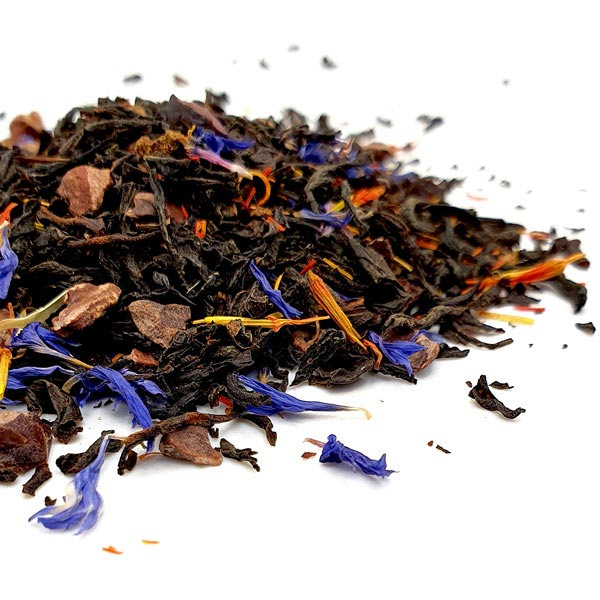 Witch's Brew Black tea blend with apricot, cocoa and vanilla