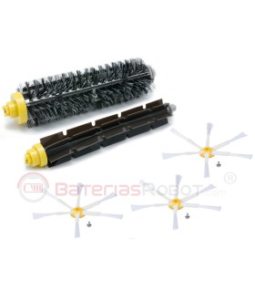 Spare parts for Roomba iRobot. Filters, rollers, brushes