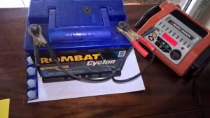 Redresor şi baterie