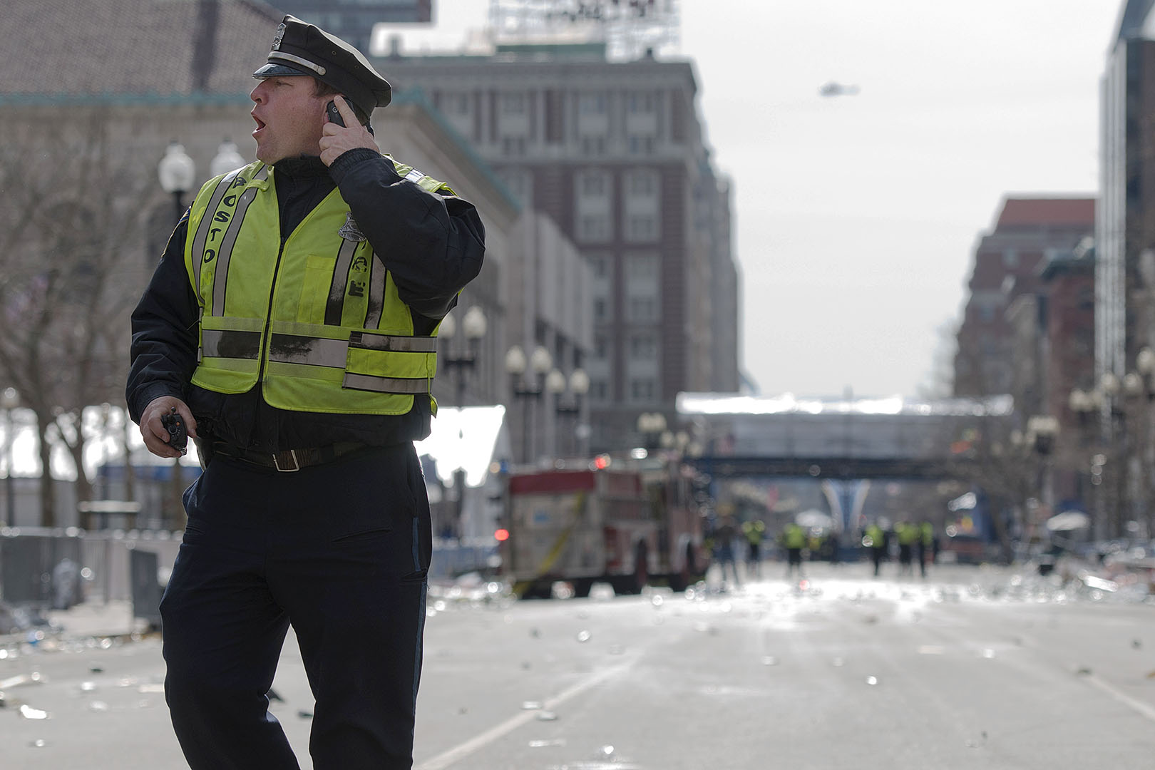 Marcus 82 offers firsthand accounts of Boston Marathon bombings and aftermath for Esquire
