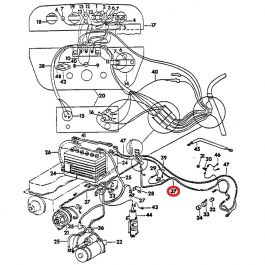 65026C1-PIGTAIL Wiring Harness, 674 Main Cable