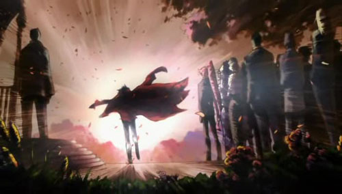The end of Tengen Toppa Gurren Lagann