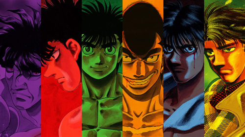 In support of sports drama and Hajime no Ippo